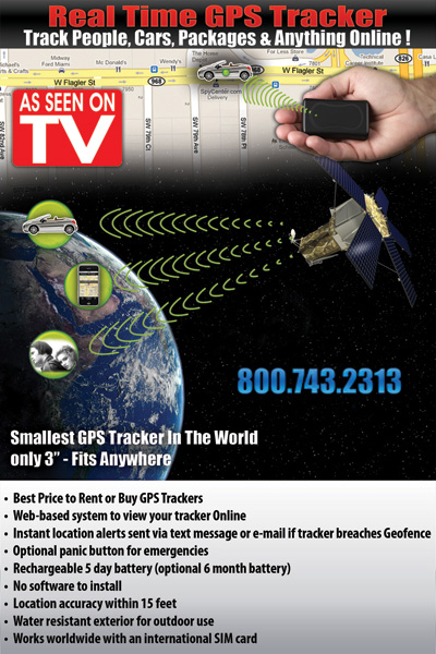 MIAMI GPS TRACKER RENTAL