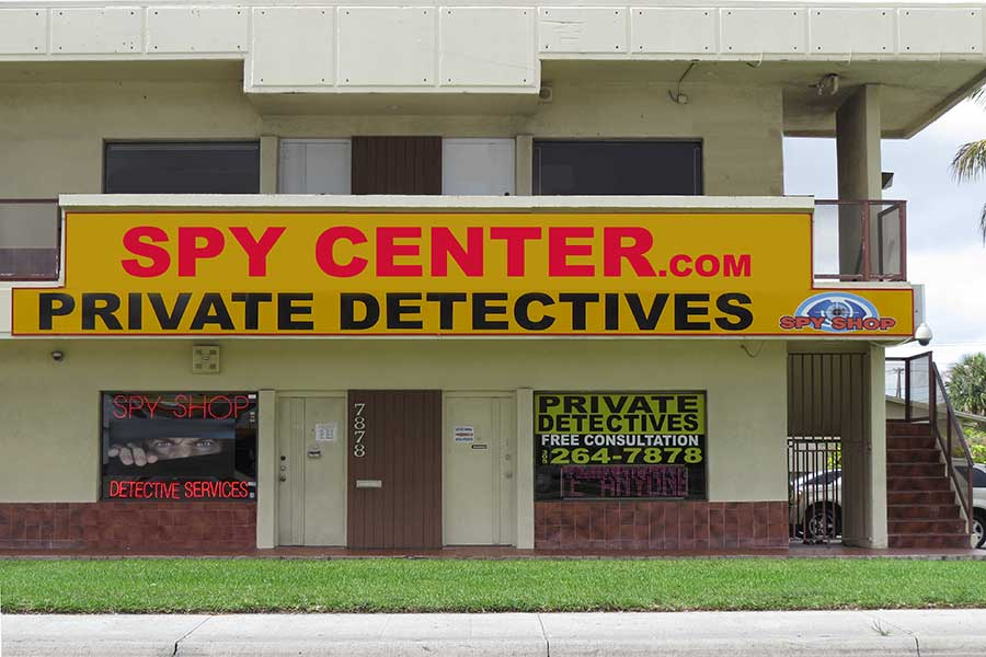 private investigator miami spy shops